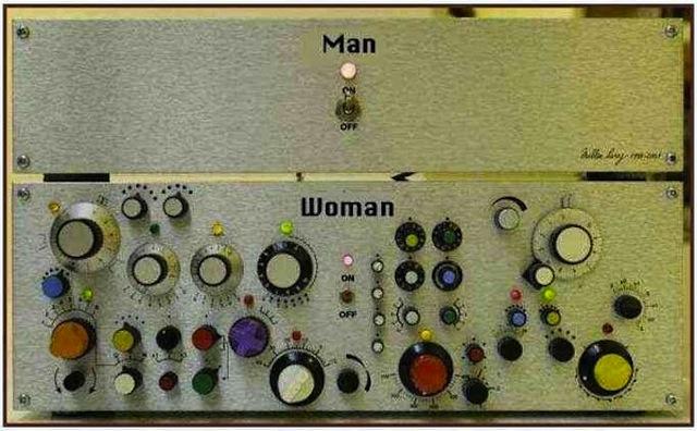 男は単純女は複雑