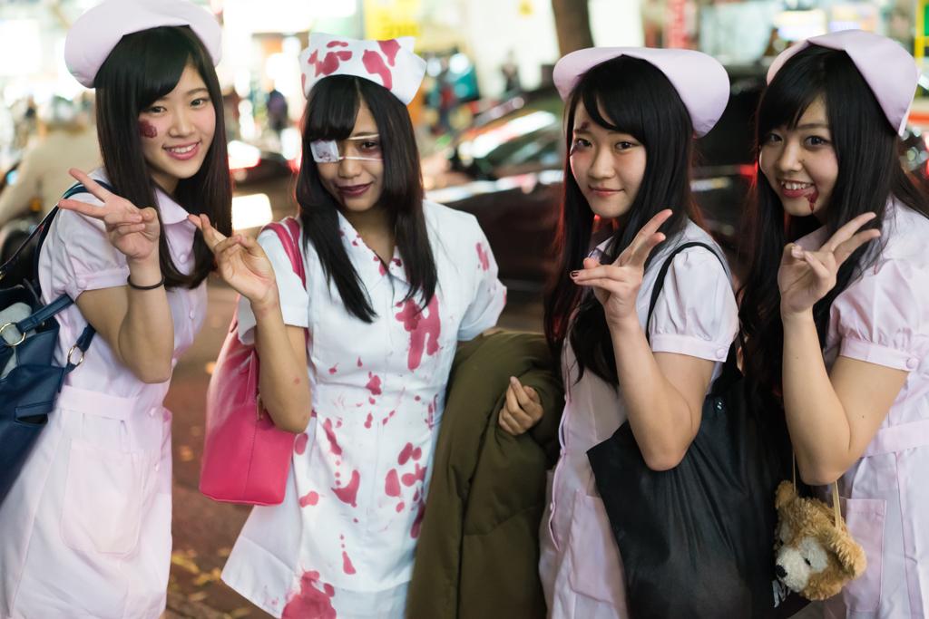 渋谷のハロウィンは出会いだらけ